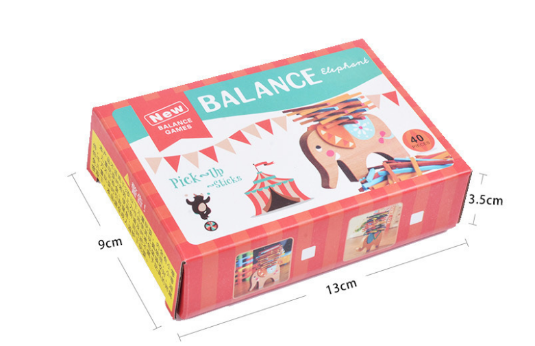 Kid Early educational toys econ-friendly EU standard good quality dolphin balance wood blocks