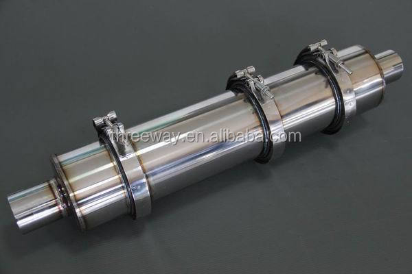 double layer exhaust flexible bellow pipe with high quality