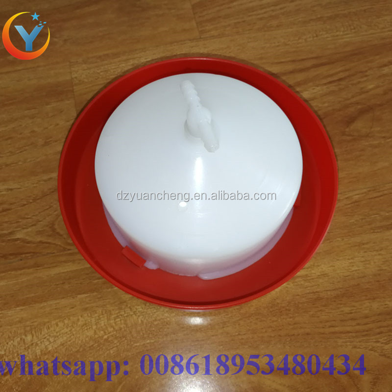 Plastic automatic animal chicken drinker plasson bell drinker rabbit water drinker automatic