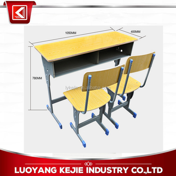 Plastic School Desk Middle School Desk And Chair / Standard Size ...