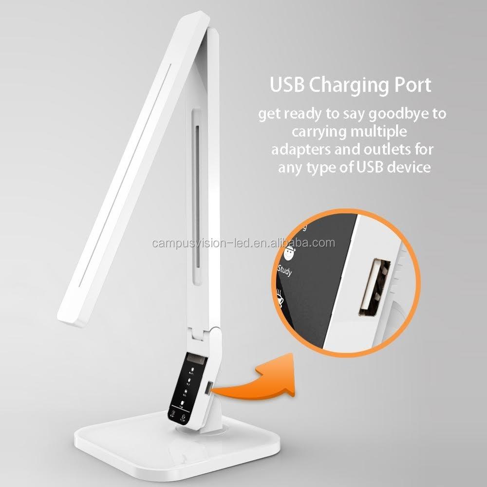 Usb Desk Lamp: Anker Lumos LED Desk Lamp (Eye-caring, 4 Modes / 5 Dimming Levels,Lighting