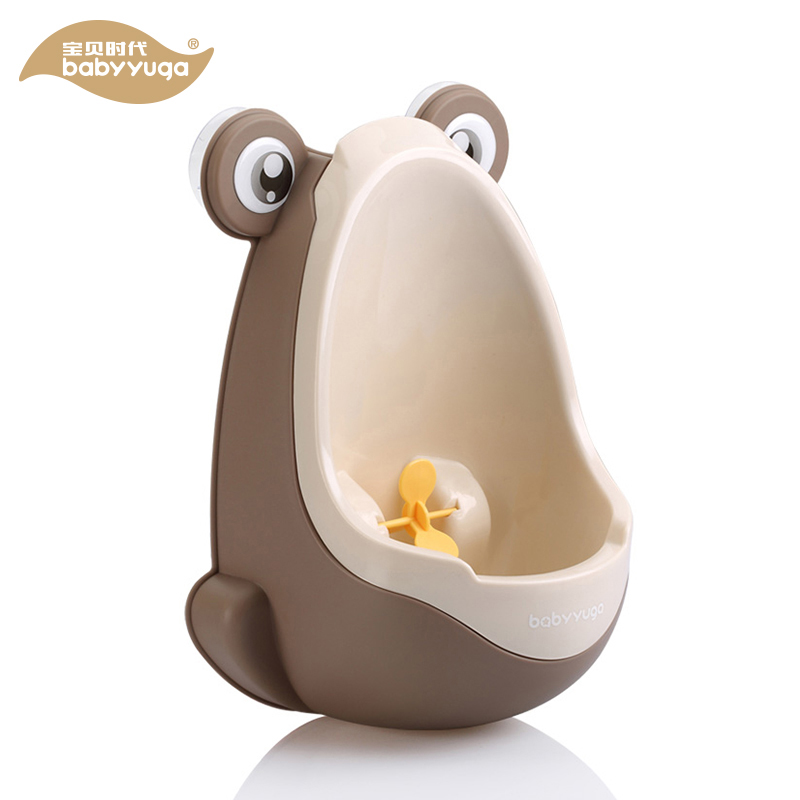 Cute Cartoon Frog Baby Potty Potties Children Kids Training Urinal Plastic Potties for Baby Boy Wall Mounted