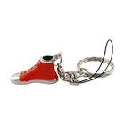 Wholesale Cheap Price Zinc Alloy Shoe Keychain Custom