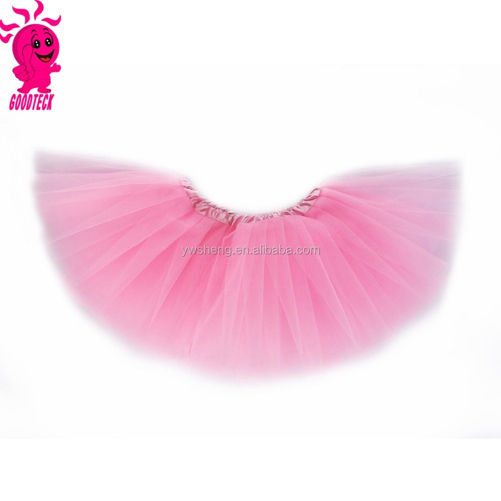 Free shipping Pink plain tutu cheap tutu/children/ kid/girls dance ballet short skirt dress baby mini skirt