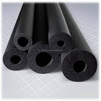 Fireproof Air conditioner pipe insulation, 13*9mm rubber foam insulation tube for copper pipe