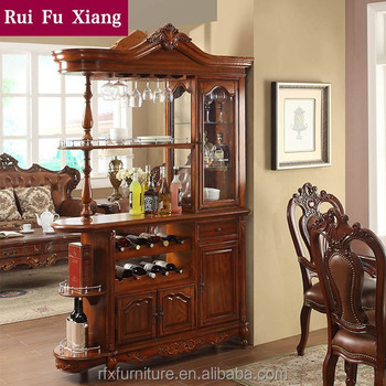 American Classical Style Display Cabinet, Living Room Cabinet, GradevinV 203