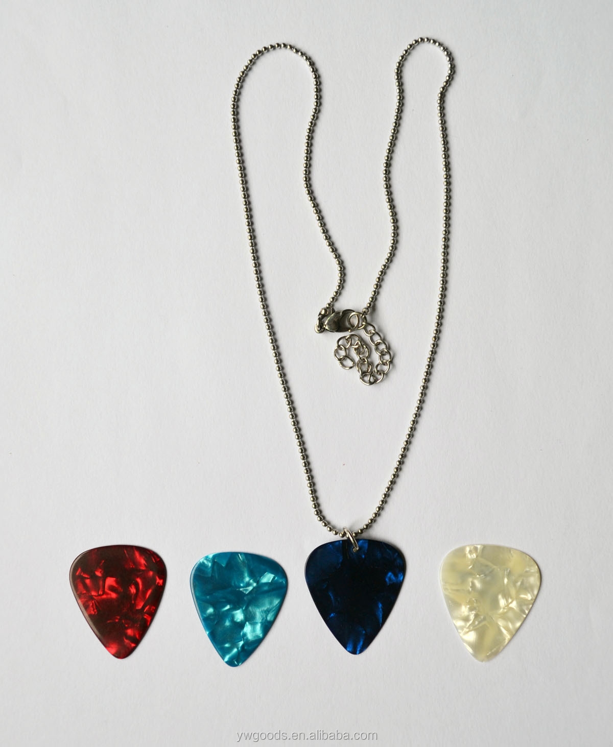 Personalized printing guitar pick necklace view guitar pick personalized printing guitar pick necklace aloadofball Choice Image