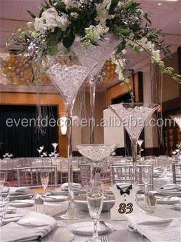 wholesale martini glass vases centerpieces  clear glass flower vase & Wholesale Martini Glass Vases CenterpiecesClear Glass Flower Vase