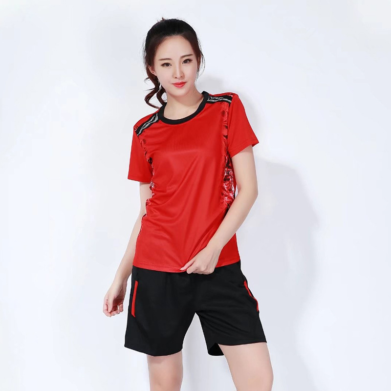 2019 Short Sleeve Volleyball Suits Mens And Women Team