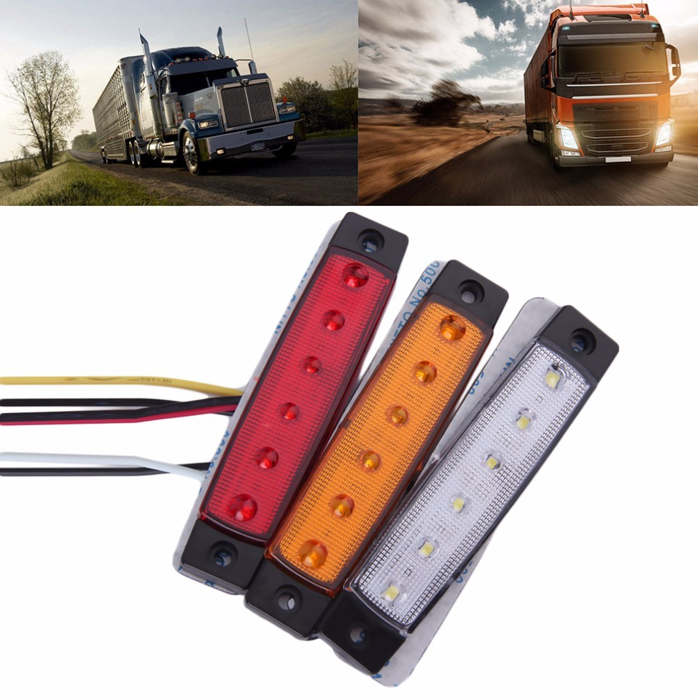 12v 6 Smd Led Car Bus Truck Trailer Lorry Side Marker