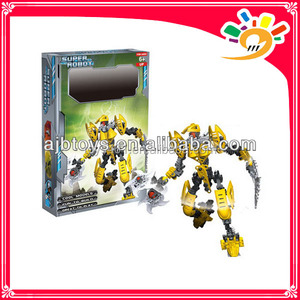 tech brick toy super robot block 100pcs/box