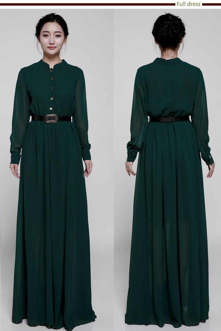Wholesale Latest abaya designs muslim long sleeve beautiful dubai ...