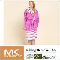Buy Woman super soft fluffy bathrobe Woman warm dress bathrobe in ...