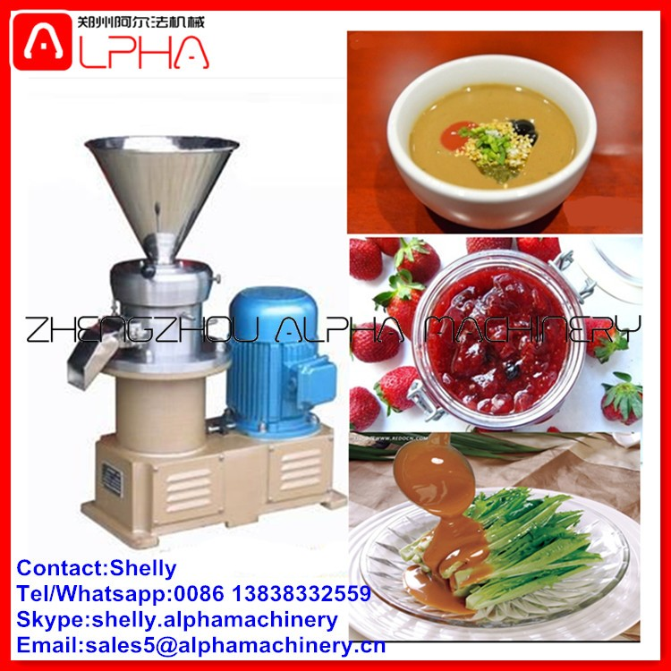 Hot sale electric chilli grinding mill/peanut grinding machine/colloid mill