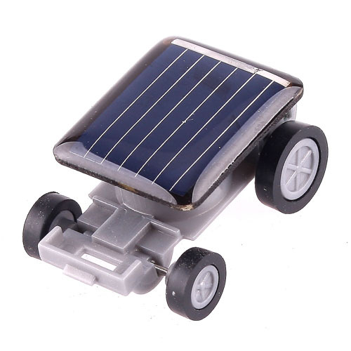 Chinatera Solar Power Mini Toy Car Racer Gadget Kids Preschool Educational Toys