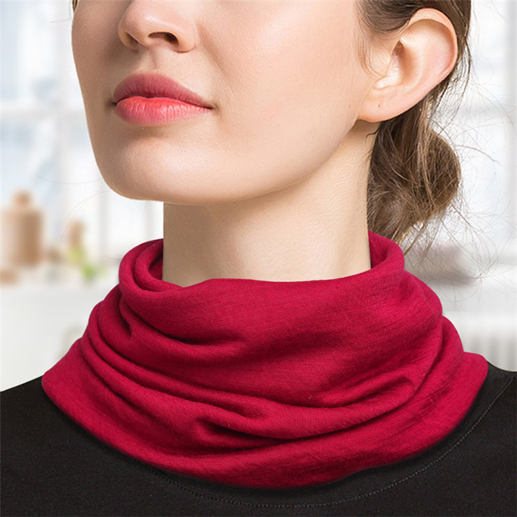 100 <strong>merino</strong> <strong>wool</strong> neckerchief <strong>scarf</strong> for women knitted fabric