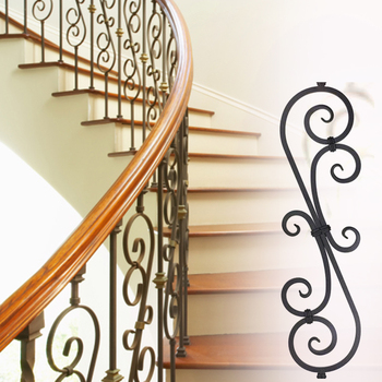 Wrought Iron Stair Railing Panels