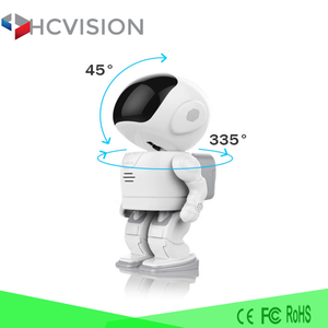 2017 smart robot body wifi ip camera night vision cctv spy cam wireless web camera