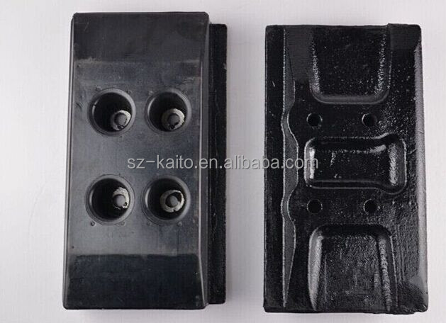 rubber tracks conversion system for crawler type machines excavator