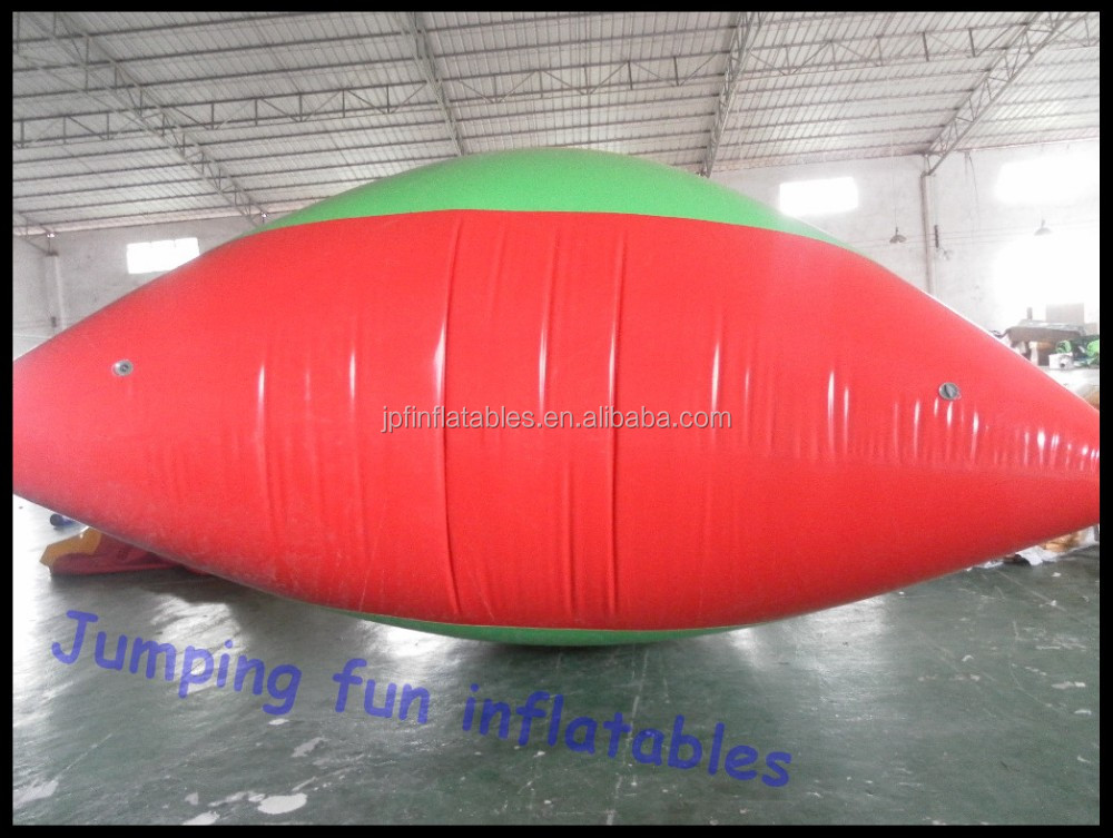 2019 PVC 0.9mm tarpaulin made inflatable water blob for sale