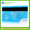 plastic print card magnetic stripe card