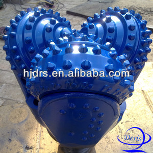 "13 5/8"" 437 tricone rock drilling bits connect water well drill pipe"