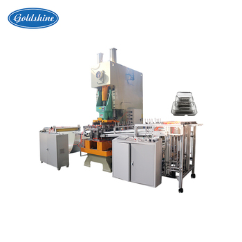 Supply Top Quality aluminium foil container tray making machine