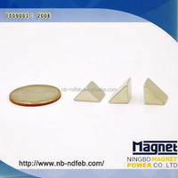 N35-N52 Triangle Shaped Permanent Neodymium Magnet Factory Low Prices