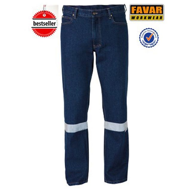 New collection jean work trousers washed pants