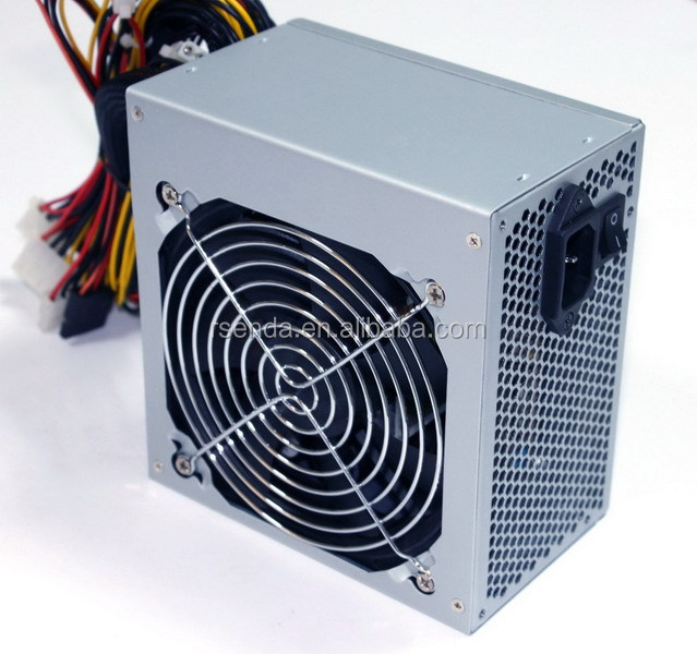 120mm Fan Silent Gaming Atx Power Supply Psu 12v 24 Pin Dual Psu Cable/atx  Computer Power Supply For Tower Pc Case - Buy Atx Power Supply,Atx Computer