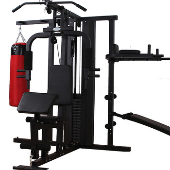 Superieur Fitness Training 4 Station Multi Purpose Portable Home Gym Equipment