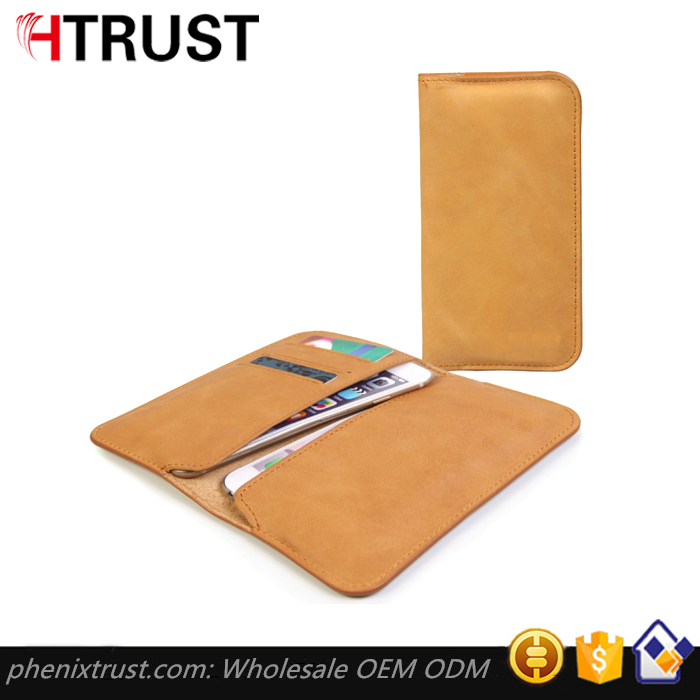 Cow leather wallet case for Apple iPhone 6/6S leather phone case wallet