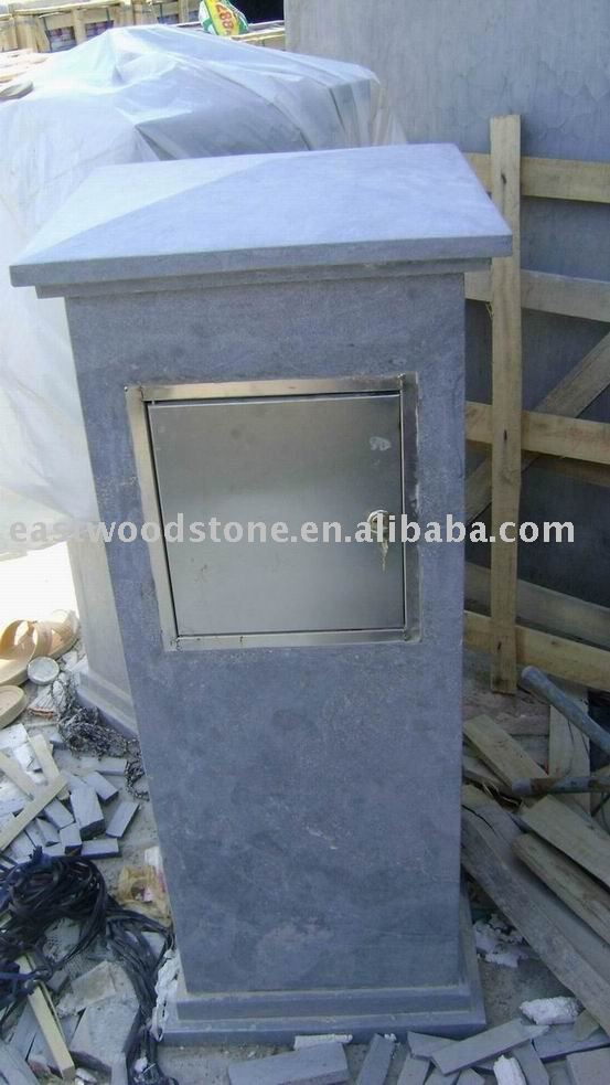 bluestone letterbox,China limestone letter box