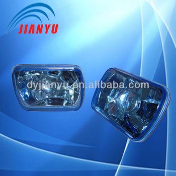 7 Inch Round Crystal Diamond Semi Sealed-beam,Angel Eyes Head Lamp ...