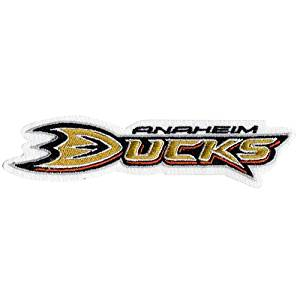 NHL Anaheim Ducks Embroidered Team Logo Collectible Patch