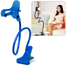 Mobile Phone Holder Lazy Phone Stand Bed Smartphone Desk Accessory 360 Degree Rotating Table Tablet Long Arm Clip Soporte