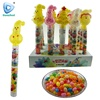 China christmas snow man jelly bean candy with light