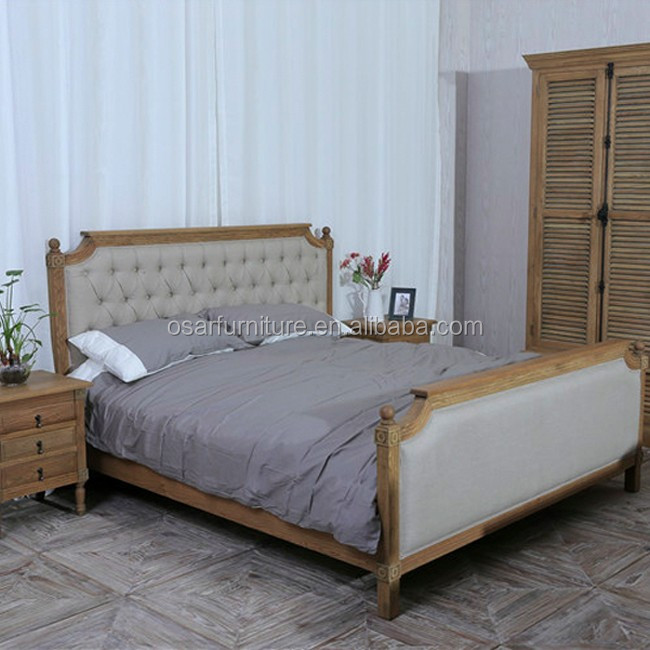 Antique Bedroom Furniture Solid Wood Frame King Size Bed Buy Wood Frame Bed