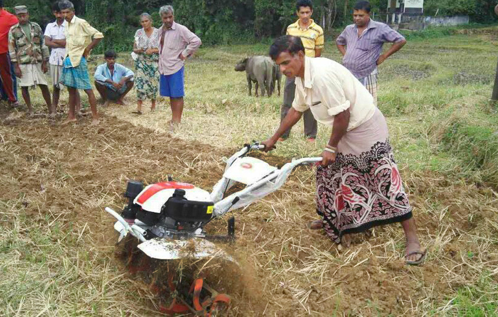 6 5hp Land Cultivation Machines Hand Farming Tractor Used