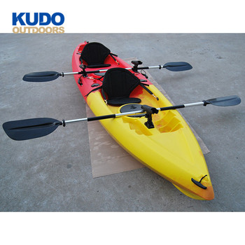 Kudo Outdoors Most Popular Plastic Sit On Top Tandem Kayak - Buy Tandem  Kayak,Sit On Top Tandem Kayak,Plastic Tandem Kayak Product on Alibaba com