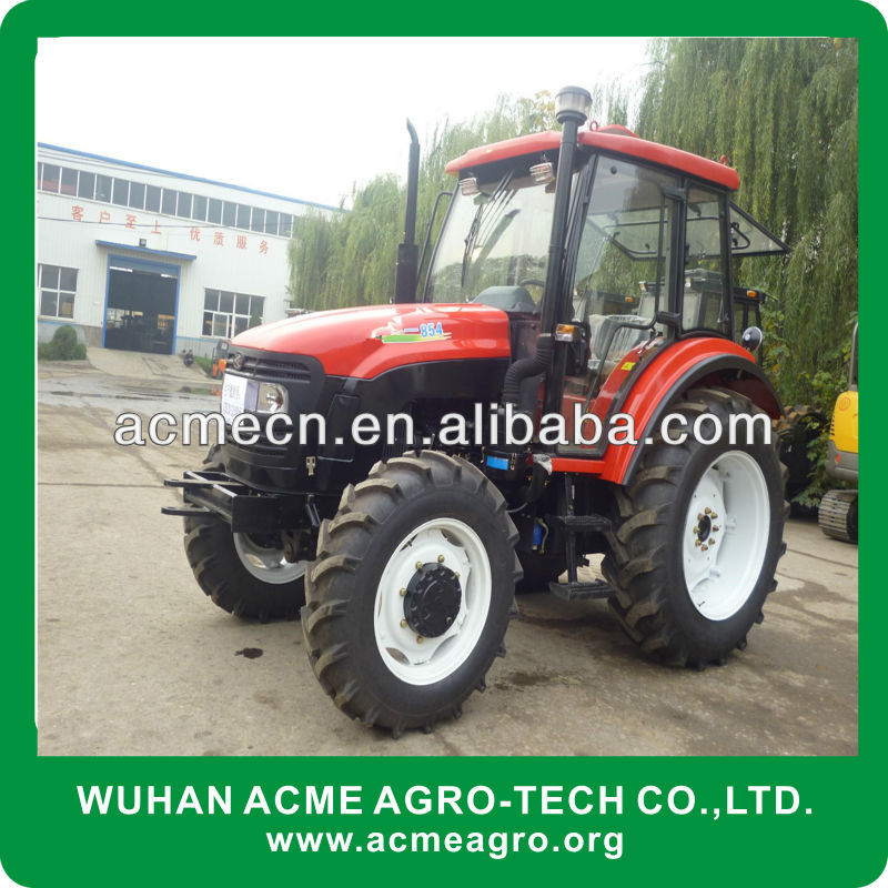 Farming machine of Agriculture Wheel Tractor 85hp 4WD china suppliers