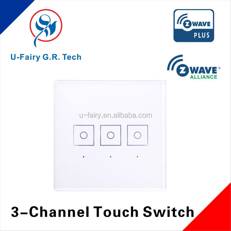 3 Gang Zwave Switch - Connected Things