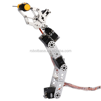 AS-5DOF Robotic Arm without Control System--Silver