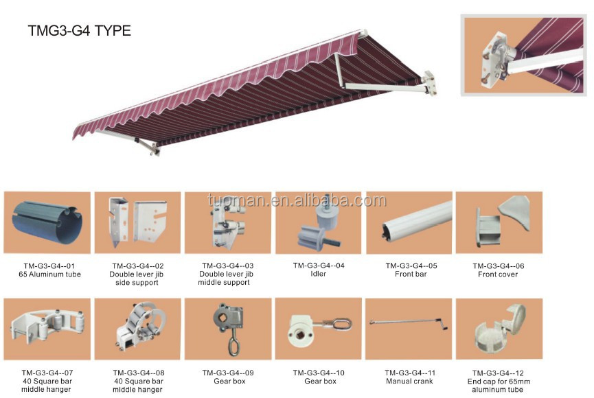Ce Automatic Retractable Awning Buy Automatic