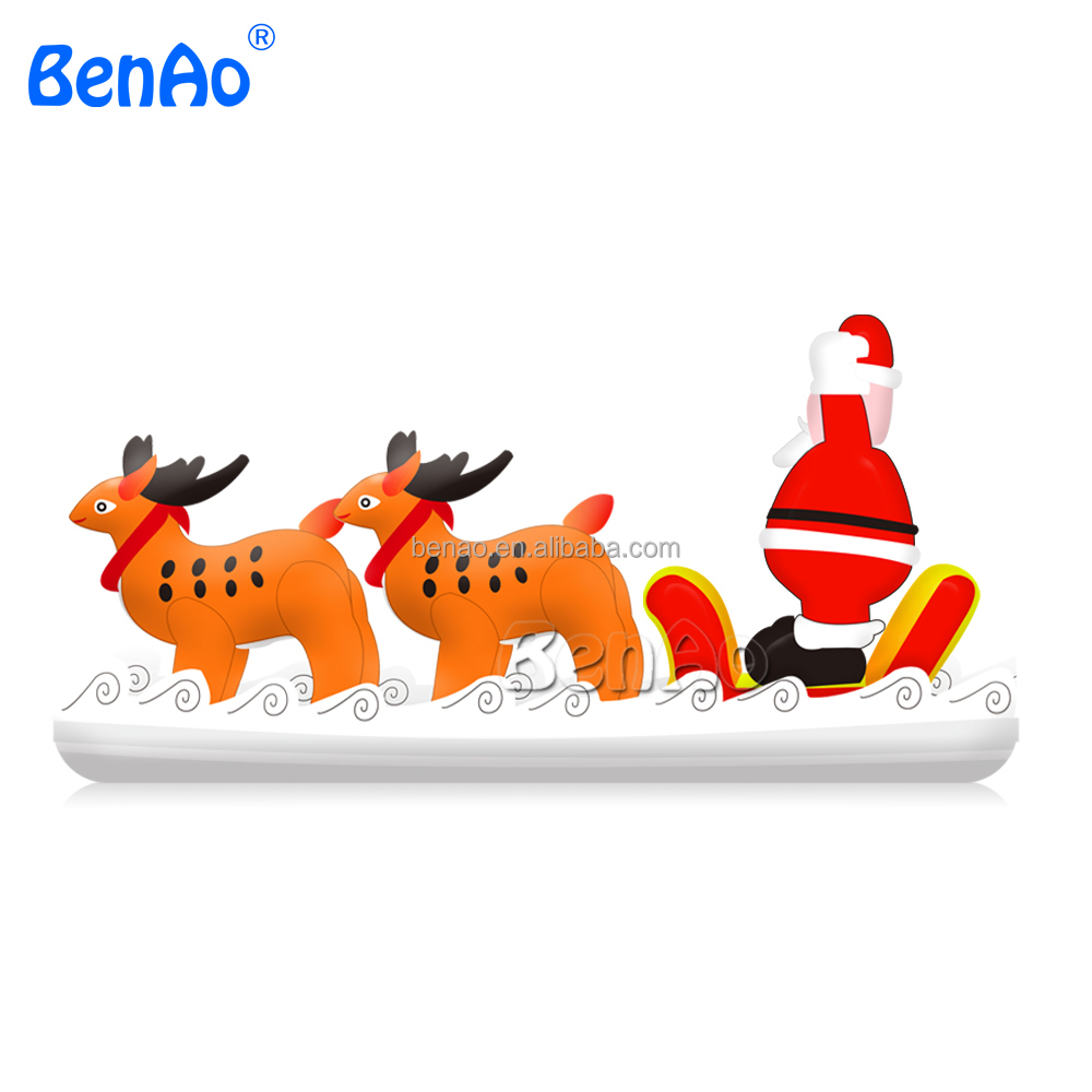 X147 Inflatable Outdoor Christmas Decorations,Giant Inflatable Santa ...