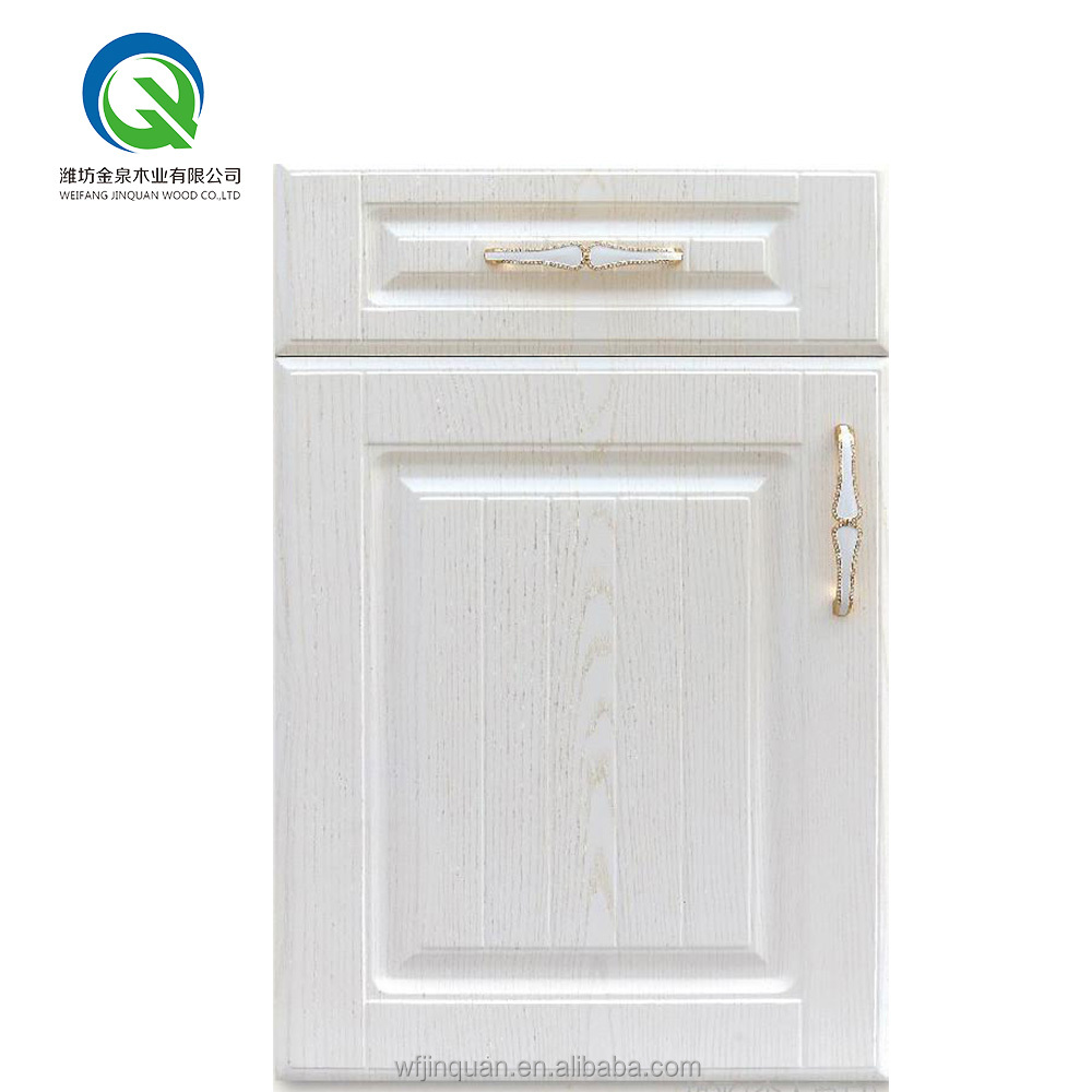 Knock down ready made kitchen cabinet door antique white