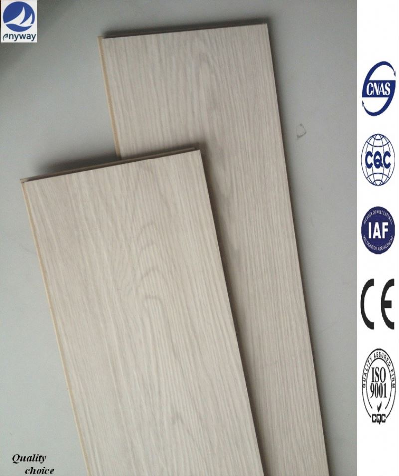 Easy install zebrano flooring health bright commercial wooden made of HDF board with click
