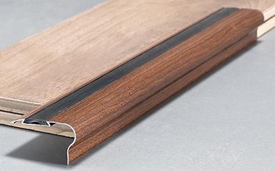Alluminio punzonatura foro antiscivolo per scale scale bordatura