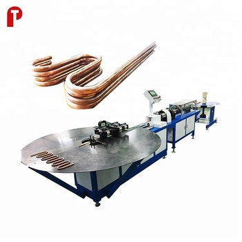 cnc plc automatic copper steel aluminum bundy serpentine tube pipe bending machine/bender manufacturer