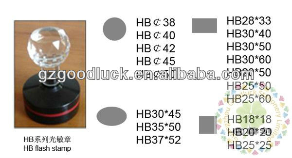 HB flash stamp mount handle wholesalers/HB flash stamp with professional techonlogy wholesalers